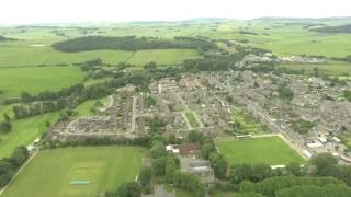 Huntly from Above