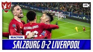 NABY MASTERCLASS AND SALAH WONDERGOAL | Salzburg 0-2 Liverpool Match Reaction