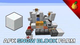 AFK Snow Block Farm