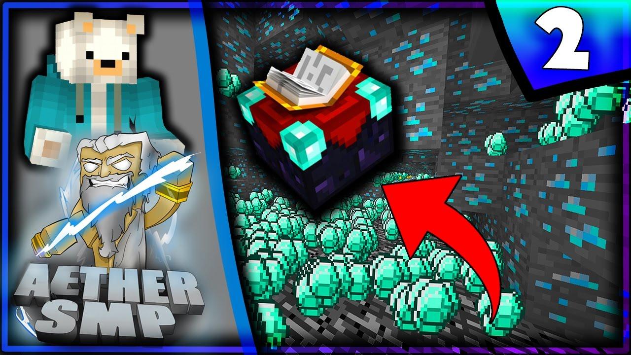 FINDING DIAMONDS Minecraft AetherSMP W ItsSmore YouTube - Minecraft neue hauser