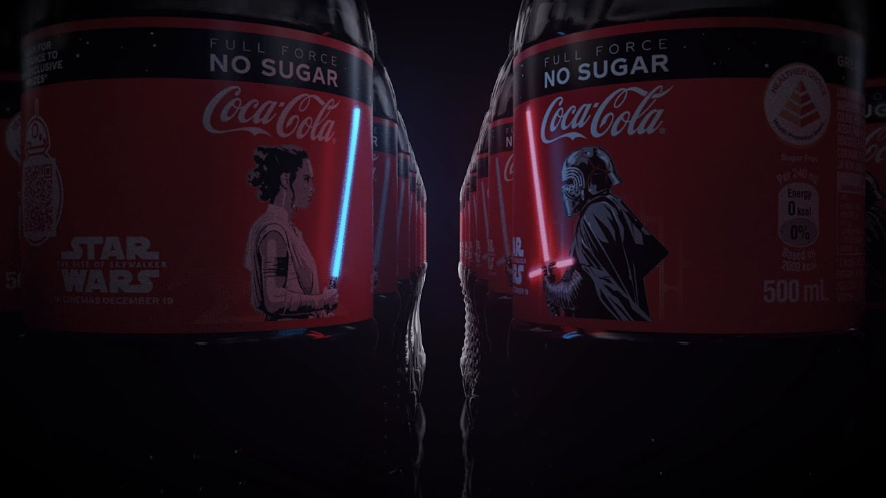 FULL COCA COLA STARWARS LIMITED EDITION CANS 2019