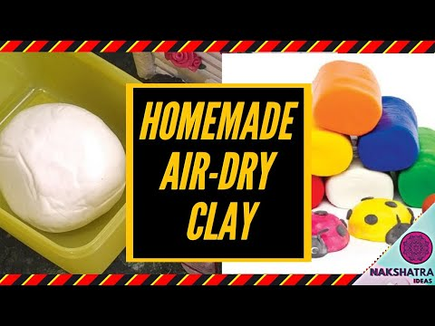 best-home-made-airdry-clay-||-होममेड-एयर-ड्राई---क्ले