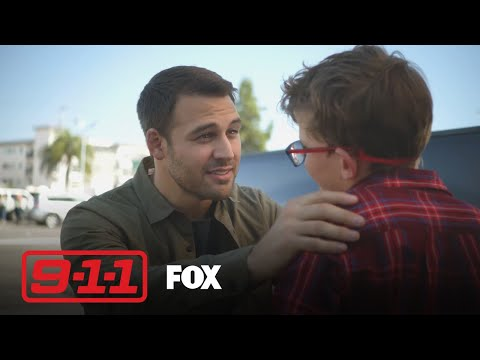 Eddie Drops Christopher Off At A Sleepover | Season 3 Ep. 5 | 9-1-1