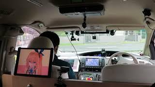KDDIのレベル4自動運転デモ(車内の様子) - ケータイ Watch