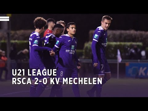 U21 League | RSCA 2-0 KV Mechelen