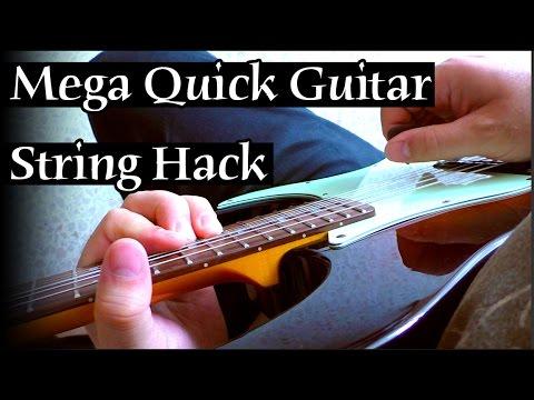 mega quick guitar string hack youtube. Black Bedroom Furniture Sets. Home Design Ideas