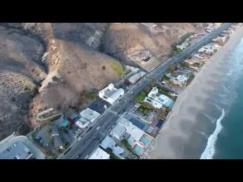 MALIBU FLIGHT WITH A PHANTOM 4