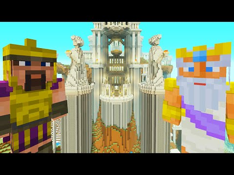 Minecraft Xbox - Survival Madness Adventures - Zeus God Of Lightning [357]