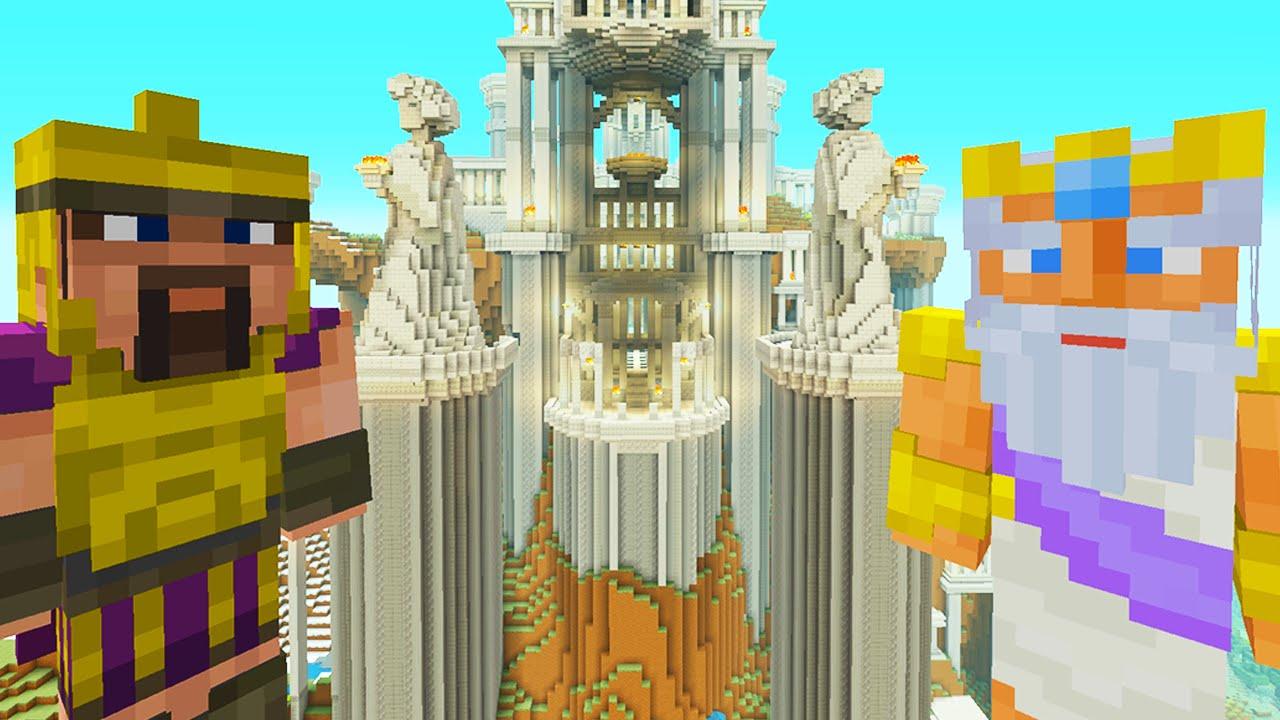 Minecraft Xbox - Survival Madness Adventures - Zeus God Of Lightning [9]
