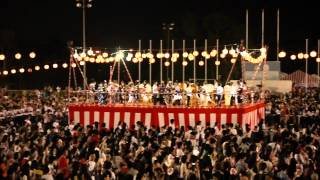 Bon Odori Malaysia 2012 - Stage Performance and Huge Crowd Turnout