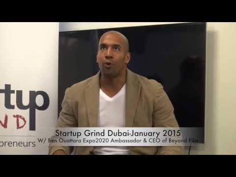 Startup Grind Dubai:Expo2020 Ambassador/CEO of Beyond Films