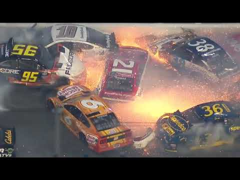 Big Rig - ICYMI: Damn That Crash From The Daytona 500 This weekend!