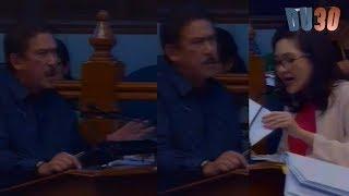 Sen. Sotto napagalitan si Hontiveros during senate session, Hindi mapigilang galit
