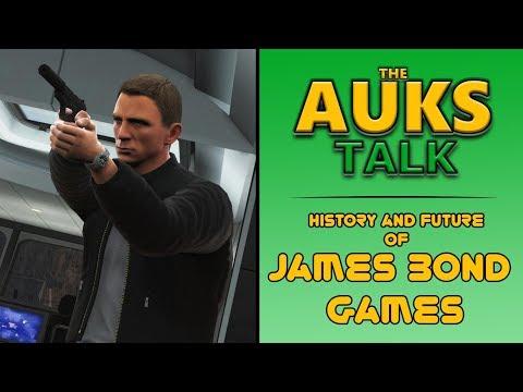 History and Future of James Bond Games | AUKS Talk