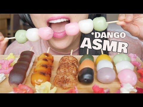 ASMR 🍡DANGO🍡 *FEAST (EXTREME SOFT CHEWY EATING SOUDNS) NO TALKING | SAS-ASMR