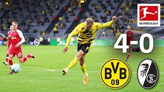 Haaland & Reyna team in perfection | Dortmund - Freiburg | 4-0 | Highlights | MD3 – Bundesliga 20/21