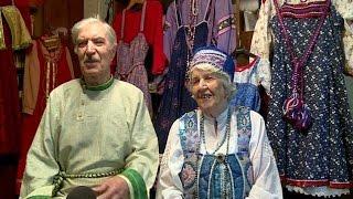 Супруги Шалаевы отметили бриллиантовую свадьбу