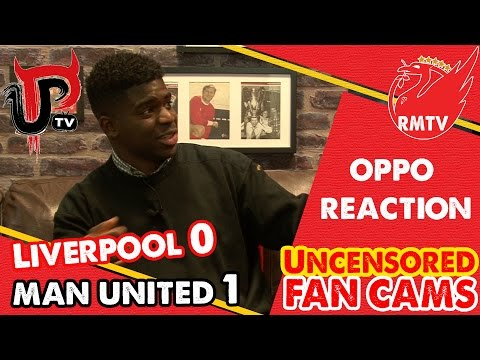 Liverpool 0-1 Manchester United | Oppo Reaction with @UnitedPeoplesTV