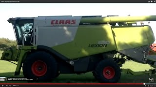 Claas large farm machines   clip