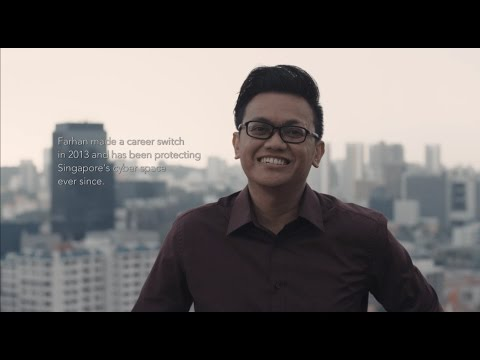 Meet Farhan - Systems Engineer with the Cyber Security Agency of Singapore