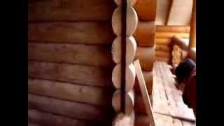 Срубы домов и бань, вставка ройки(Для того, чтоб проёмы в деревянных домах из бруса или бревна могли свободно садиться и находиться постоянно..., 2013-12-26T16:27:06.000Z)
