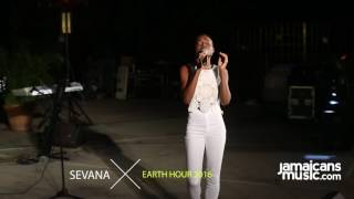 Sevana performs at #EarthHourJA 2016