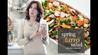 How to Cook Like a Food Stylist: Spring Farro Salad