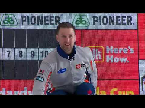 2019 Home Hardware Canada Cup - Gushue vs. KoeDraw9