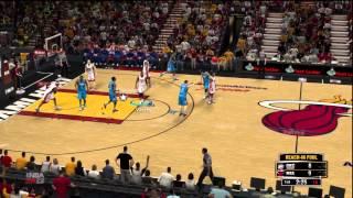 NBA 2K13 - Demo Gameplay - OKC @ MIA (PS3)