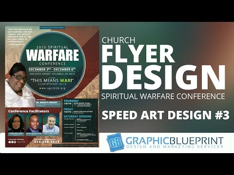 Speed Art #3 | Spiritual Warfare Conference