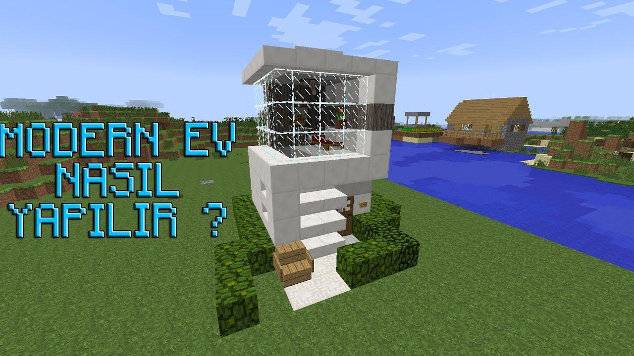 Minecraft - Modern Ev Nasıl Yapılır ?