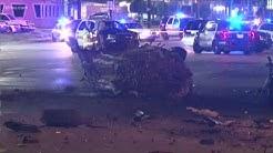 HPD officer critical after fiery crash involving DWI suspect