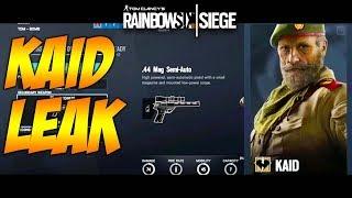 Rainbow Six Siege: KAID & NOMAD LOADOUT LEAK