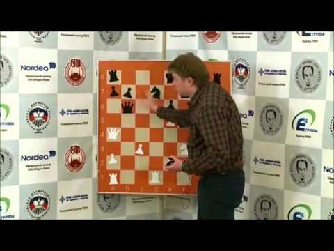 Tal Memorial 2010  Eighth round  Shirov commenting on his win against Eljanov