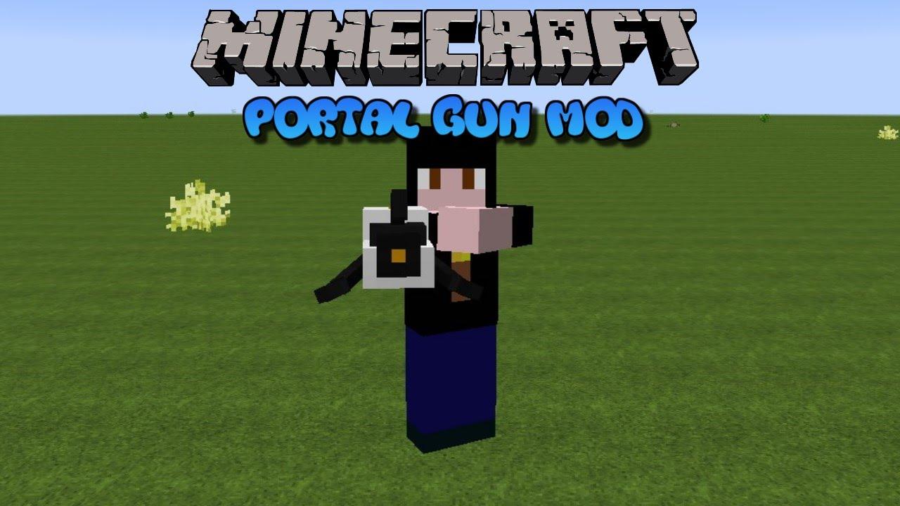 download minecraft with portal gun mod