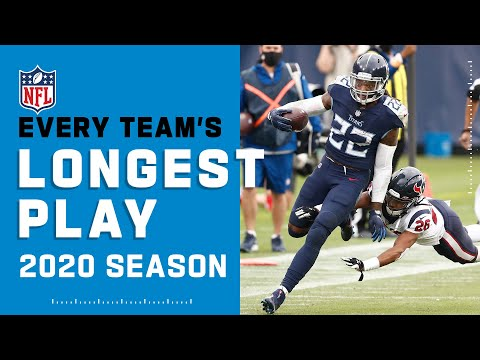 Every Team's Longest Play of the 2020 Regular Season | NFL Highlights