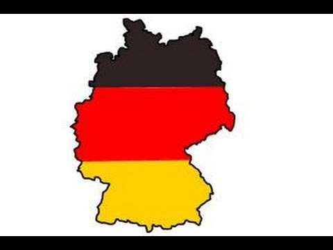 How To Draw Germany YouTube - Germany map drawing