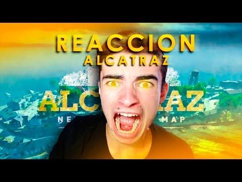 """REACCIÓN al NUEVO MAPA """"ALCATRAZ"""" - Call of Duty Black Ops 4"""
