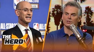 Colin Cowherd on possible NBA Playoff format changes | THE HERD