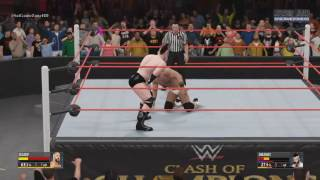 WWE Clash Of Champions 2016   Cesaro VS Sheamus (Match Seven in Best of Seven Series) Match HD