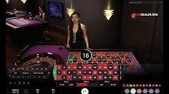 Playtech's Diamond Live Roulette (Asian studio)