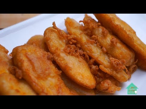 How to make Crispy Fried Banana !