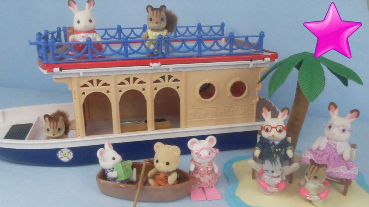 Barco Crucero Casa del Mar Calico Critters Seaside