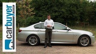 BMW 5 Series saloon 2013 review - CarBuyer(BMW 5 Series saloon 2014 review: http://bit.ly/1accTca Subscribe to the Carbuyer YouTube channel: http://bit.ly/17k4fct Subscribe to Auto Express: ..., 2013-10-10T10:18:05.000Z)