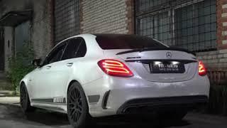 Тюнинг выхлопной системы Mercedes C63 W205