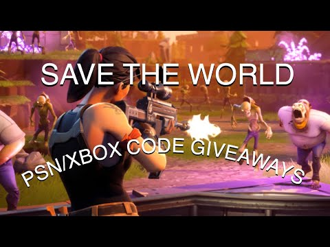 10 SUBS = 1 PSN OR XBOX CODES FORTNITE SAVE THE WORLD!!!| ROAD TO 750 SUBSCRIBERS