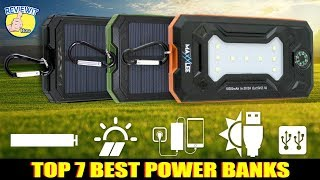 Top 7 Best Power Banks On Amazon 2019 [MUST HAVE USEFUL CHARGING GADGETS]