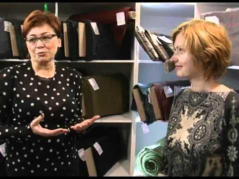 Итальянские ткани от салона Антре - YouTube