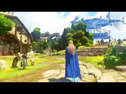 AWESOME NEW PS4 Exclusive RPG GRANBLUE FANTASY PROJECT Re: LINK