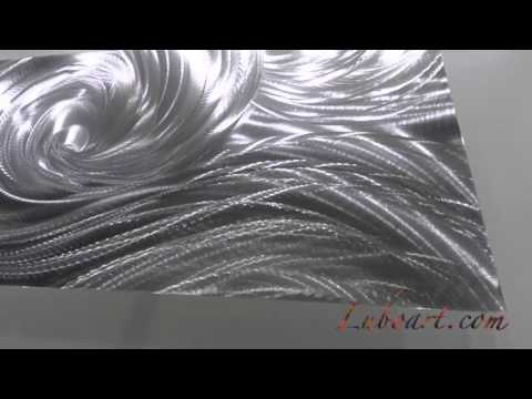 "Metal art painting Original 3D wall decor ""Ocean Dance"" by: Lubo Naydenov"
